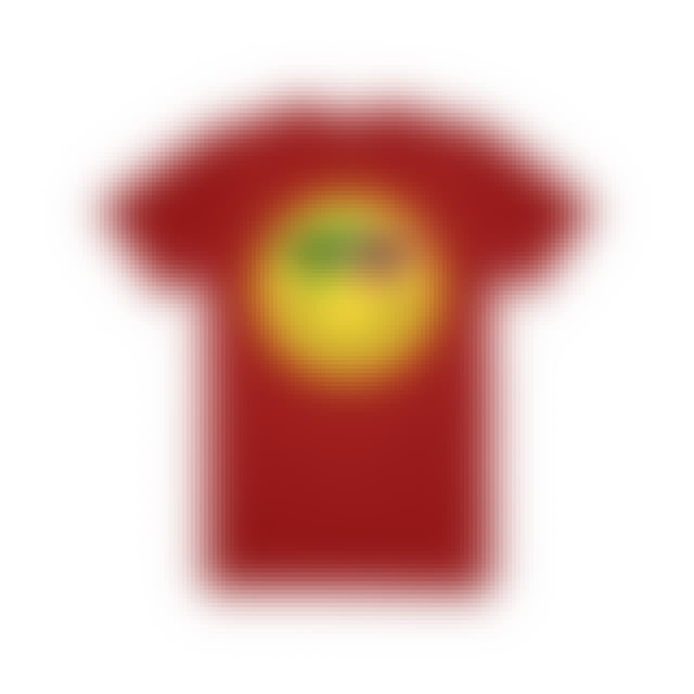 Roy Purdy Smiley Tee Red