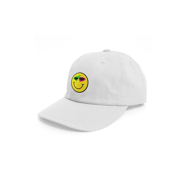 Roy Purdy Smiley Hat White