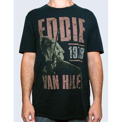 Eddie Van Halen Poster Tee