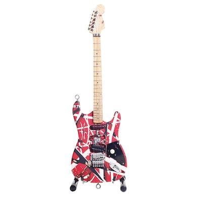 Eddie Van Halen EVH Mini Guitar Frankenstein