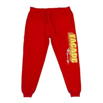 Domo Genesis Facade Joggers (Red)