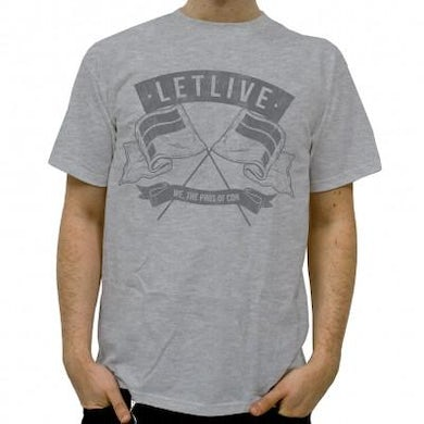 Letlive Pros of Cons T-shirt