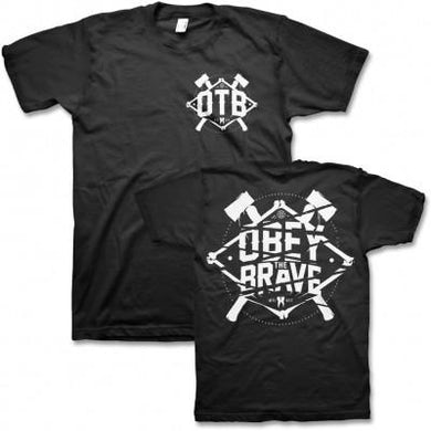 Obey The Brave Bone T-shirt (Black)