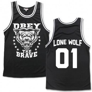 Obey The Brave Wolf Basketball Jersey