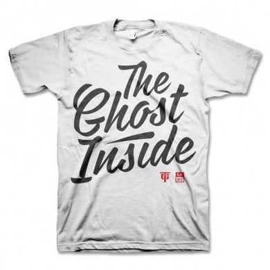The Ghost Inside Cursive T-shirt (White)