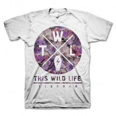 This Wild Life Clouded T-shirt (White)