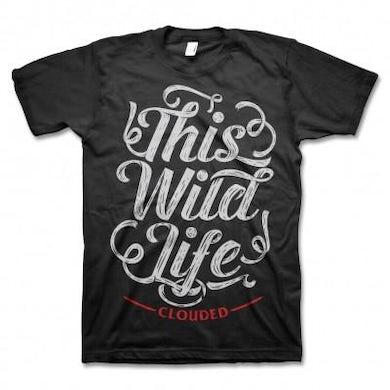 This Wild Life Script T-shirt (Black)