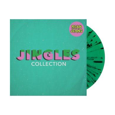 Mean Jeans Jingles Collection LP (Trans Green w/ Black & Red Splatter) (Vinyl)