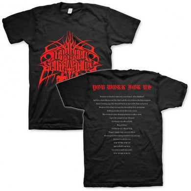 These New South Whales You Work For Us T-shirt (Black)