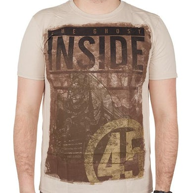 The Ghost Inside Engine 45 T-shirt (Sand)