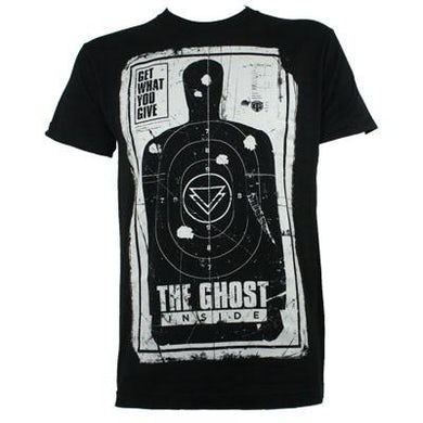 The Ghost Inside Drive By Shooting Target T-shirt (Black)