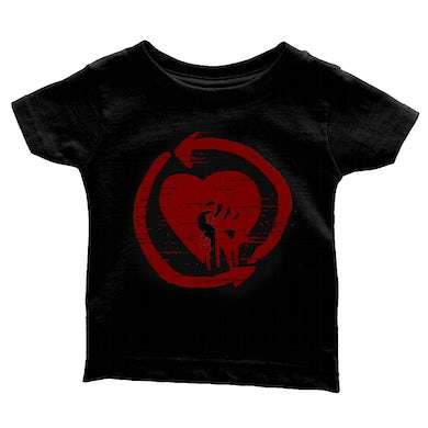 Rise Against Distressed Logo Youth Tee (Red/Black)