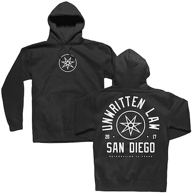Unwritten Law 25 Years Pullover Hoodie (Black)