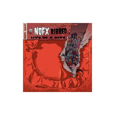 Nofx Ribbed - Live In A Dive CD