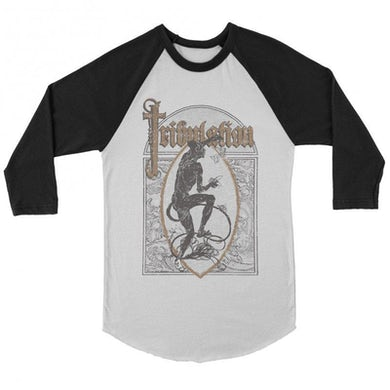 Tribulation Lord of Flies Raglan (White/Black)