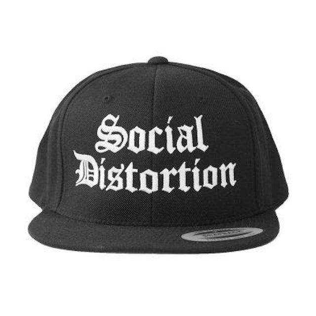 Social Distortion Old English Logo Snapback