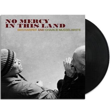 Ben Harper No Mercy In This Land LP (Black 180 gram) + Signed Litho (Vinyl)