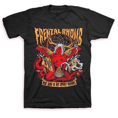Frenzal Rhomb Ray Ahn is My Spirit Animal T-shirt (Black)