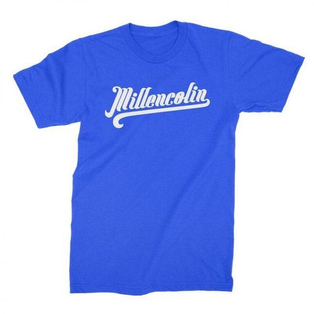 Millencolin Baseball Script T-shirt TE (Royal Blue)
