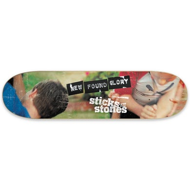 New Found Glory Sticks and Stones Skate Deck (Limited Edition)