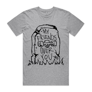 New Found Glory Bored To Death T-shirt (Heather Grey)