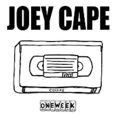 Joey Cape One Week Record LP (Covers - White w/ Splatter) (Vinyl)