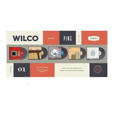 Wilco Album Lapel Pin Set - Volume 1