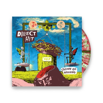 Direct Hit!  Crown of Nothing LP (Transparent Red and Green) + Slipmat