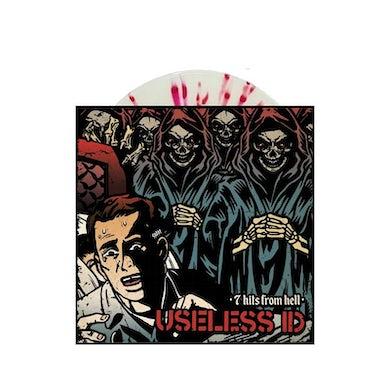 """Useless Id 7 Hits From Hell 7"""" (Bone w/ Oxblood) (Vinyl)"""