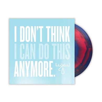 Moose Blood I Don't Think I Can Do This Anymore LP (Pink/Blue Marble) (Vinyl)