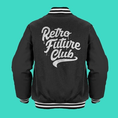 Forever Came Calling Retro Future Club Varsity Jacket