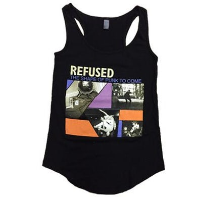 Refused Shape of Punk To Come Womens Tank (Black)