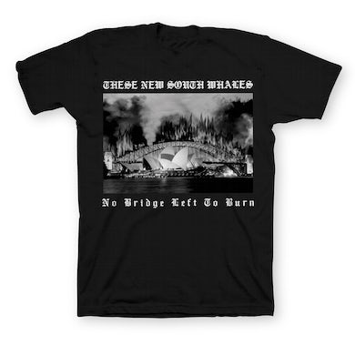 These New South Whales No Bridge Left To Burn Tee (Black)