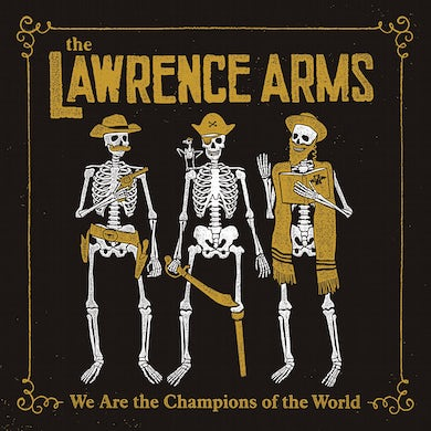 The Lawrence Arms We Are The Champions Of The World: The Best Of CD
