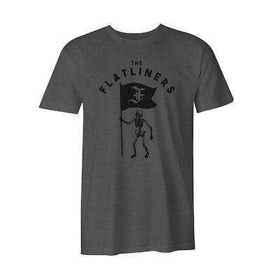 The Flatliners Skeleton Flag T-Shirt