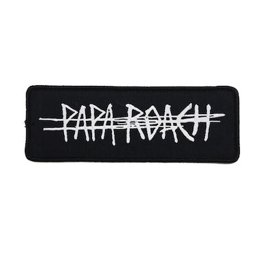 Papa Roach Scratch Logo Patch