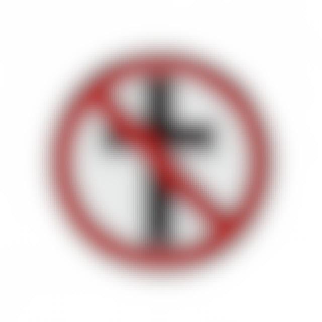 Bad Religion Classic Crossbuster Enamel Pin (1.25