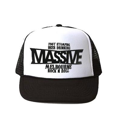 Massive Foot Stomping Trucker Hat (Black)
