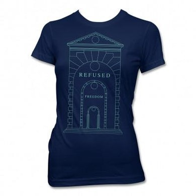 Refused Arch T-shirt (Navy) - Womens