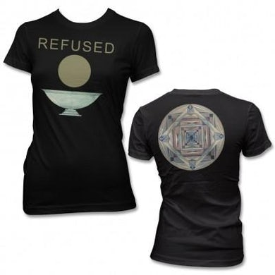 Refused Chalice T-shirt (Black) - Womens