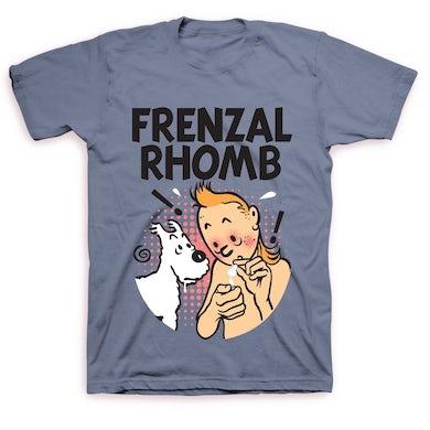 Frenzal Rhomb Tin Tin T-shirt (Blue)