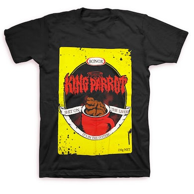 King Parrot Bonox T-shirt (Black)