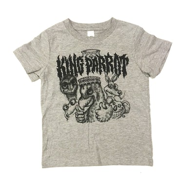 King Parrot Kids Tee (Grey)