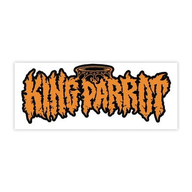 King Parrot KP Logo Sticker