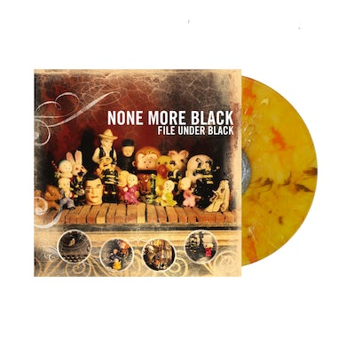 File Under Black LP (Transparent Amber w/ Orange smoke) (Vinyl)