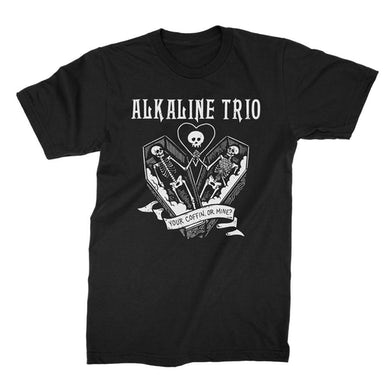 Alkaline Trio Your Coffin Or Mine T-shirt (Black)