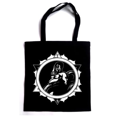 Tribulation Snake Woman Tote Bag (Black)