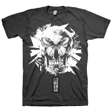 Converge Butterfly Tri-blend Black Tee
