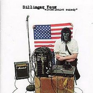 Dillinger Four Situationist Comedy CD