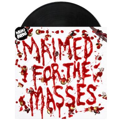 """Night Birds Maimed For The Masses 7"""" (Black) (Vinyl)"""